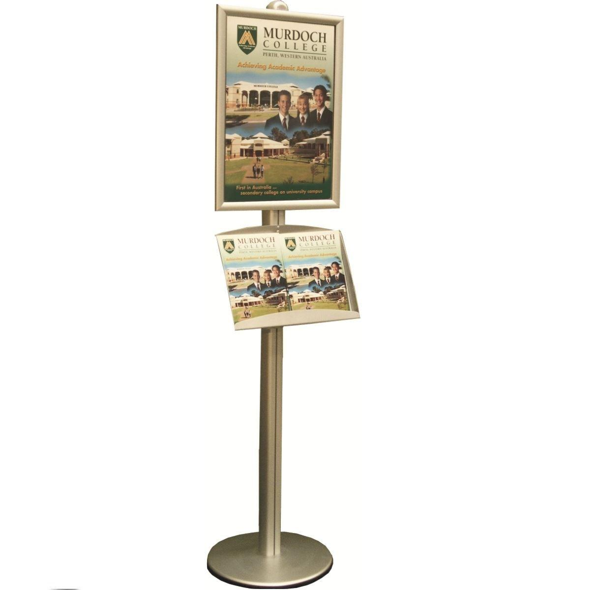 freestanding brochure display