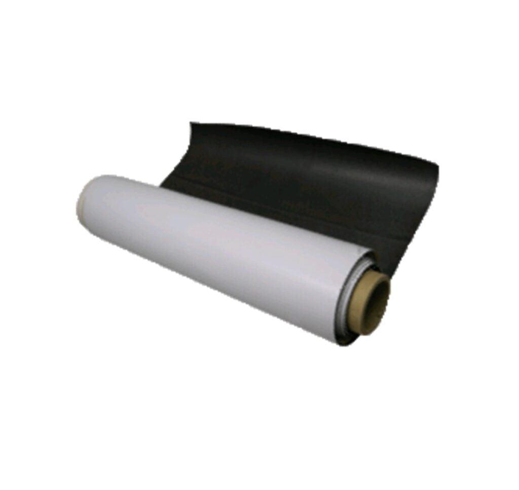 Magnetic sheet, large roll media