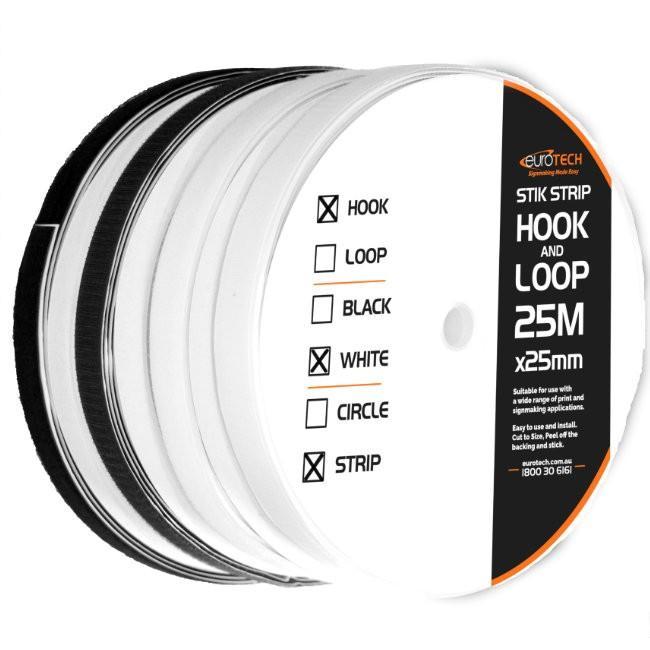 hook and loop stik strip