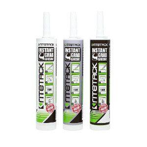 Ritetack black grey or instant grab adhesive