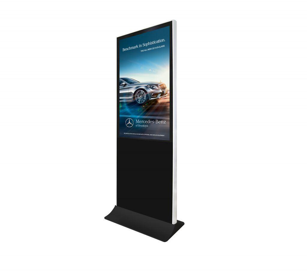 digital signage free standing
