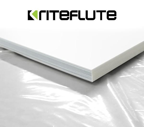 Flute Sheet for Signage and Construction