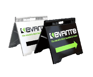 Evarite Aframes comes in white and black