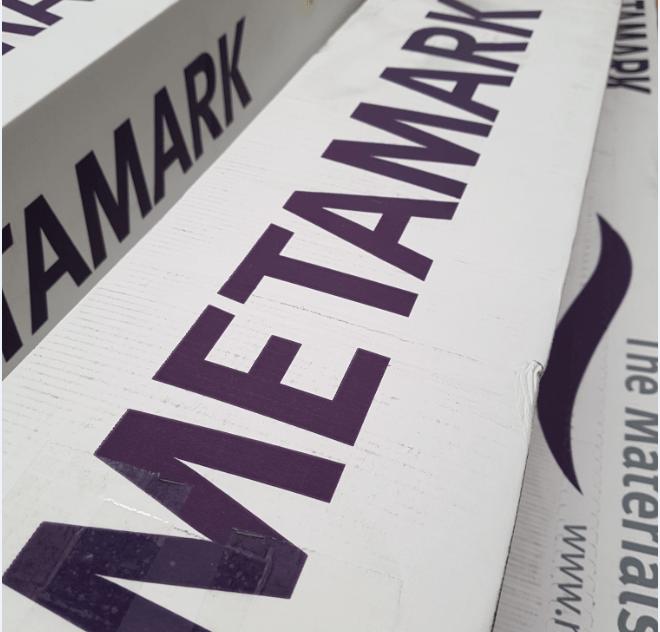 metamark adhsive vinyl box