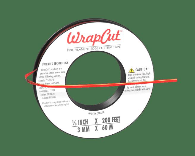 knifeless tape wrap cut
