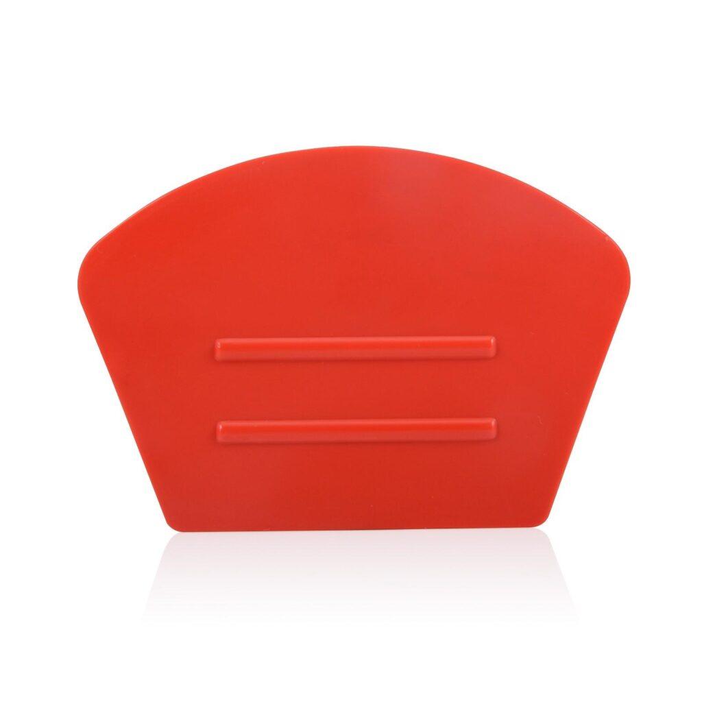 semi curve red squeegee