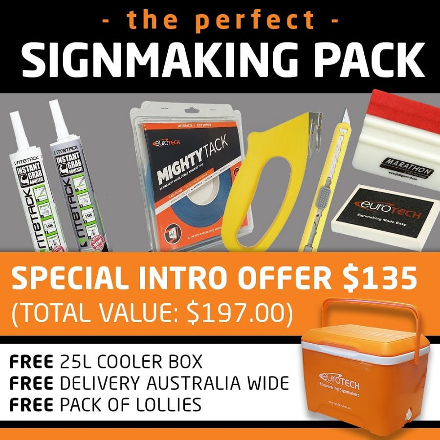 the perfect signmaking pack
